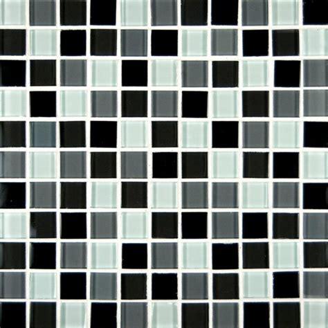 msi ulc black blend 1 in x 1 in glass mesh mounted