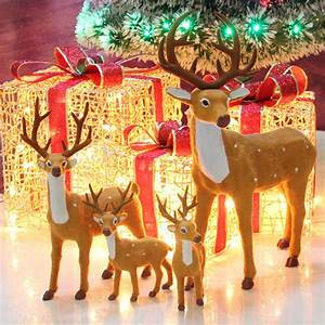 Hot, Sale, New, Christmas, Decorations, Reindeer, Doll, Xmas, Shop, Window, Showcase, Home, Party, Decor