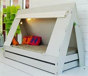 Lit Design Enfant : lits cr atifs pour la chambre des enfants ~ Teatrodelosmanantiales.com Idées de Décoration