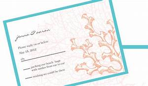 6 things not to forget on your wedding invitations get With wedding rsvp cards deadline