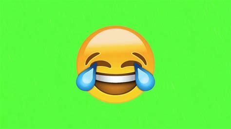 Funny Emoji (green Screen)