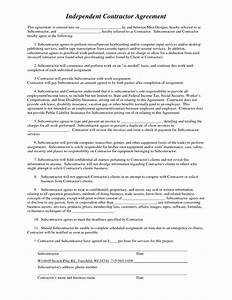 best photos of contractor agreement form template With 1099 contractor agreement template