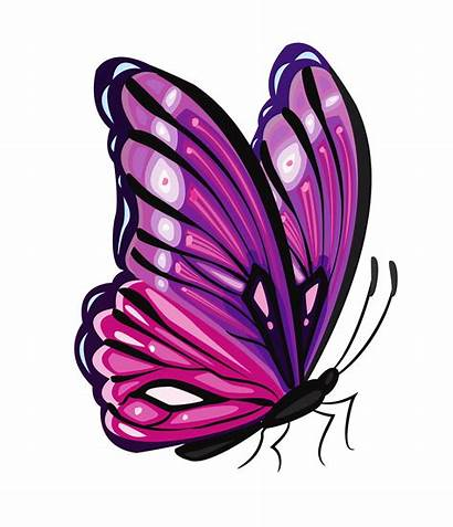 Butterfly Purple Clipart Clipground