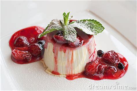 italian dessert panna cotta stock image image 10024421