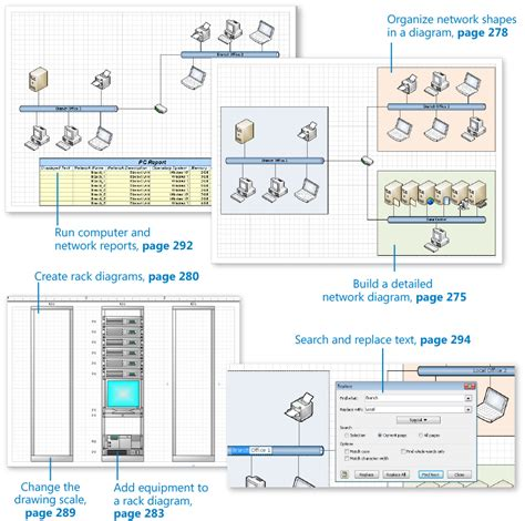 drawing  real world network  data center