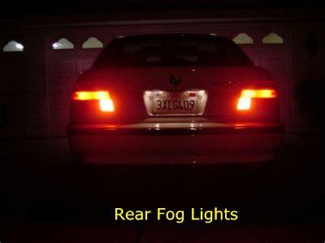 rear fog light bmw rear fog lights