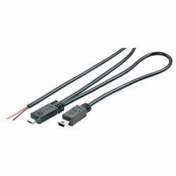 bkl 10080102 assembled micro usb b mini usb b plug with With wiring a usb plug