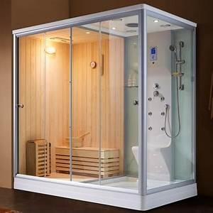 Sauna Hammam Prix : combi sauna douche hammam boreal sh220g gauche ~ Premium-room.com Idées de Décoration