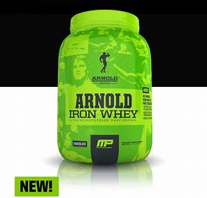 Musclepharm Arnold Series Iron Whey Protein 5 Lbs 70 Servings