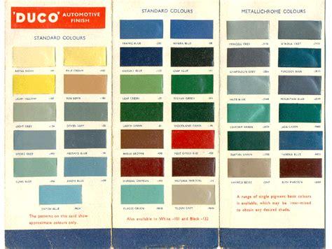 car paint color cards duco automobile color index color wheel