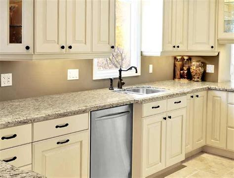 Kitchen Cabinets _ Painted Linen Bisque -like This For The Living Room Wood Floors Home Decorating Ideas Walls Design For Open And Dining Chevron Curtains Kendall College Menu Sets Images Modern Furniture Small Tile