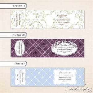 17 best images about wedding invitations on pinterest With cool mailing labels