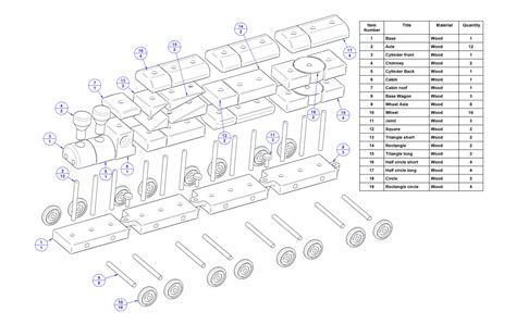 wooden train plans  plans woodworking