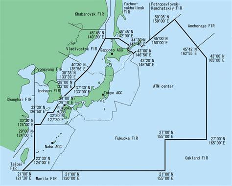 FLIGHT INFORMATION REGION(FIR) AND CONTROL AREA - MLIT Japan