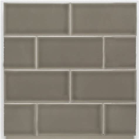 Of Pearl 3x6 Subway Tile by H Line 3x6 Glossy Subway Tile Pearl Eclectic Wall
