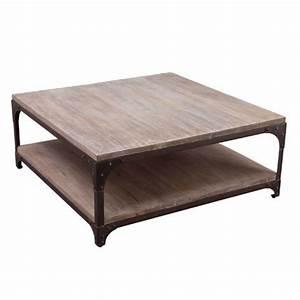 Table Basse Alinéa Bois : table basse ronde bois alinea le bois chez vous ~ Teatrodelosmanantiales.com Idées de Décoration