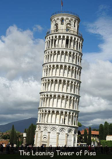 leaning tower  pisa fun facts  kids