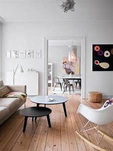 Table Basse Ronde Gigogne : la table basse ronde est un l ment incontournable de l 39 int rieur ~ Teatrodelosmanantiales.com Idées de Décoration