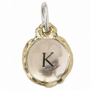 letter quotkquot intra insignia charm by waxing poetic With waxing poetic letter charms