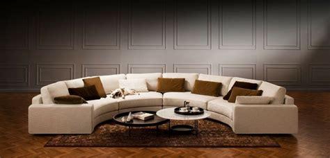 canapé arrondi cuir le canapé d 39 angle arrondi comment choisir la meilleure