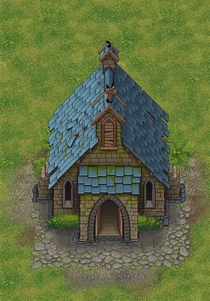 Church Graveyard Keeper Pixel Upgrades Kirche Jogos