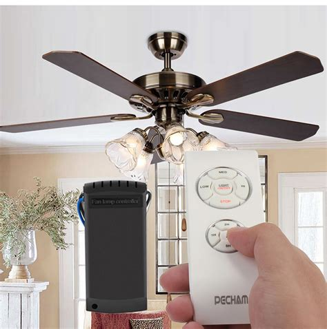 ceiling fans with lights and remote control universal wireless ceiling fan l remote controller kit