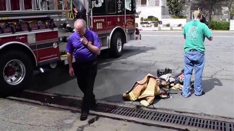 Firefighter Safety On Scene Decontamination - YouTube