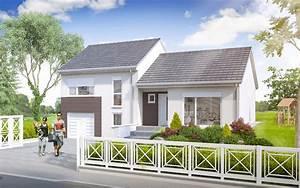 modele topaze une maison familiale et moderne maisons With construire ou acheter une maison