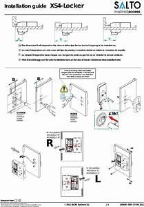 Salto Systems S L L90 Xs4 Locker Lock