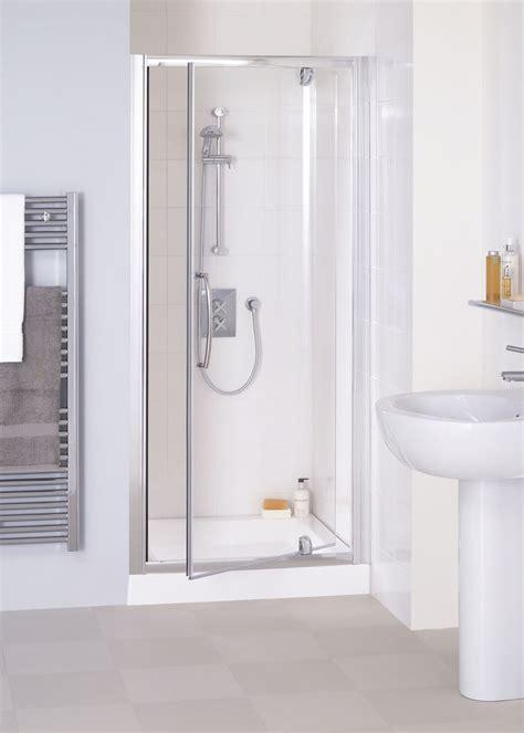 lakes semi framless mm pivot shower door silver frame