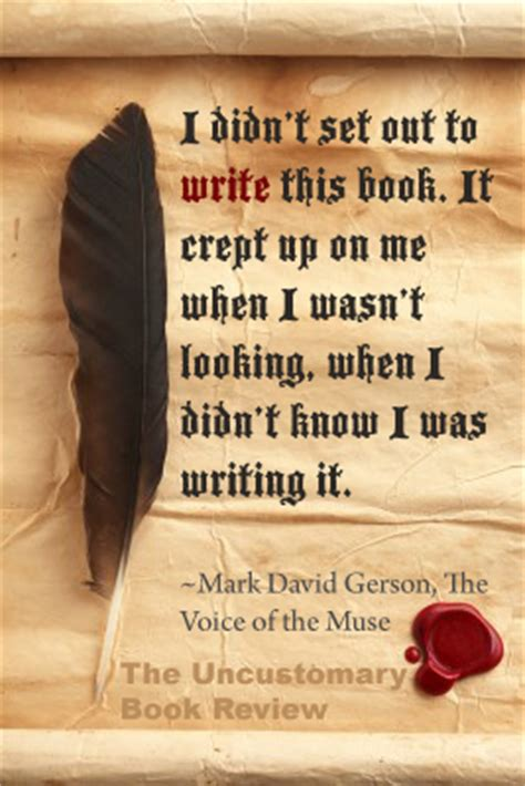 quotes  writing  uncustomary book review