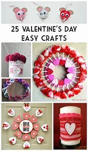 25 Valentine's Day Easy Crafts - BargainBriana