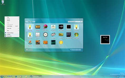 gadgets bureau windows 7 thoosje sidebar click taglloadd