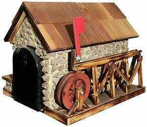 Wooden and Poly Mailboxes Amish Handcrafted Mail Boxes