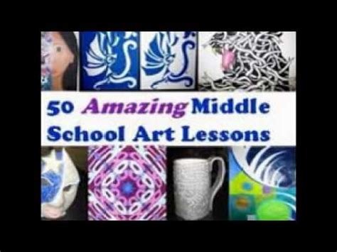 art lessons  middle school youtube