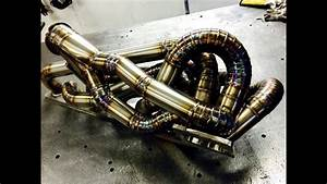 Custom Pie Cut Turbo Exhaust Manifold Bmw S54