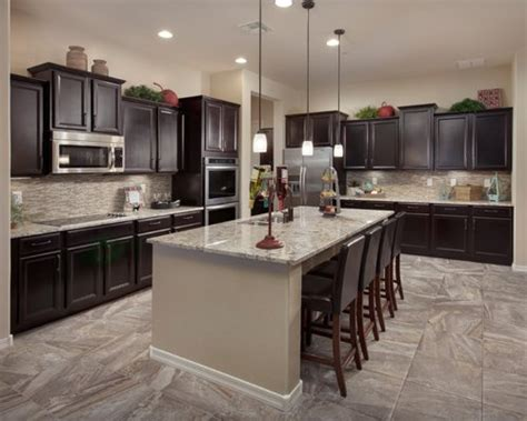 dark cabinet kitchens home design ideas pictures remodel