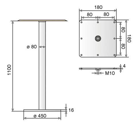 table mange debout 248 80 mm