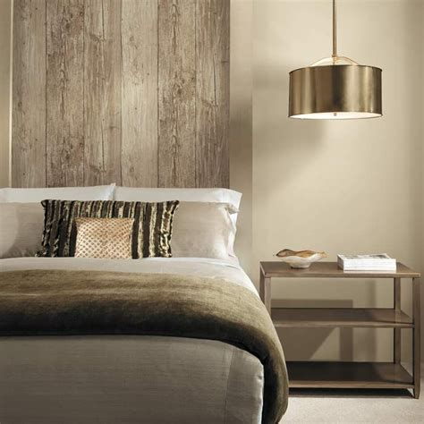 Holz Tapete Schlafzimmer by It S Not Wood It S Wallpaper Get The Look Today Bed