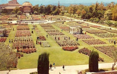 garden exposition park los angeles california 1960