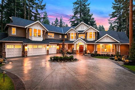 grand craftsman manor jd architectural designs house plans
