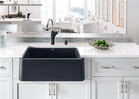 Composite Apron Sink by Blanco Launches Ikon The Apron Front Sink Of Its