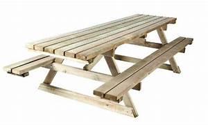 Table Bois Pique Nique : am nagement urbain en bois table de pique nique ~ Melissatoandfro.com Idées de Décoration