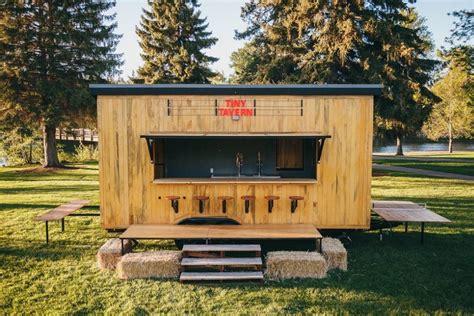 Tiny Home Bar by Tiny Tavern On Wheels