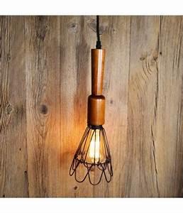 Suspension Ampoule Vintage : suspension style baladeuse de garage ou d 39 atelier vintage industriel ~ Dode.kayakingforconservation.com Idées de Décoration