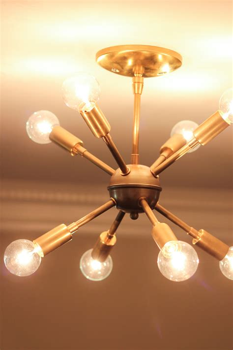 light bulbs for chandeliers new sputnik chandelier mid century style lighting source