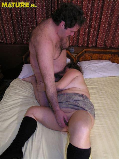 Mature Chubby Couple Having Great Fucking Sex