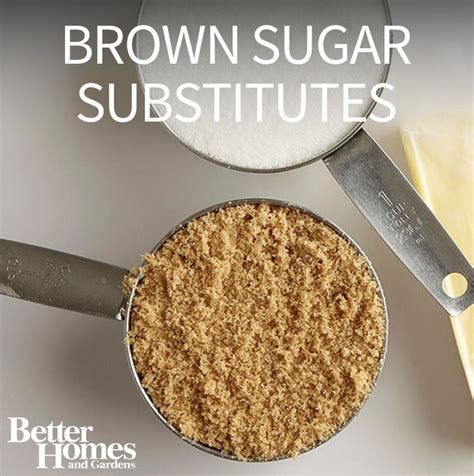 substitute for brown sugar brown sugar substitutes