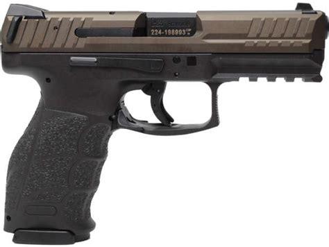 hk vp midnight bronze mm luger  barrel variant  handguncloud