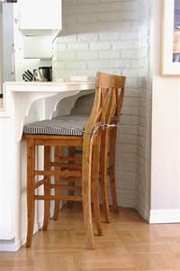 kitchen barstool update With aaron barstool pottery barn